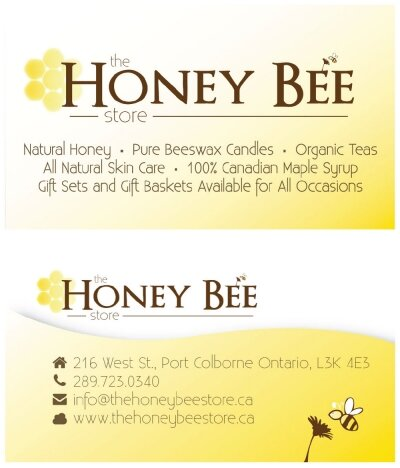 The Honey Bee Store Business Card