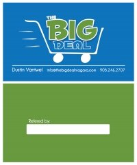 The Big Deal Business Card