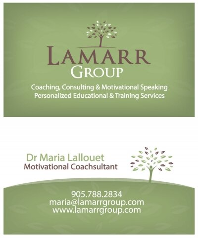 Lamarr Group Business Card