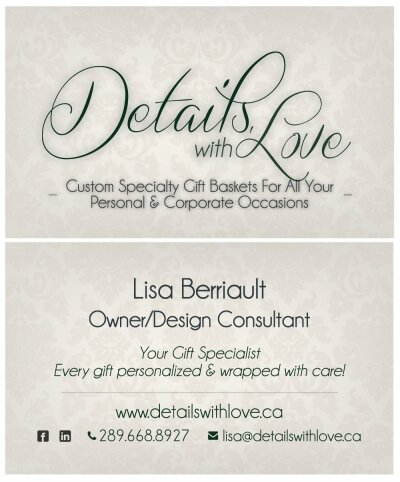 Details With Love Business Card