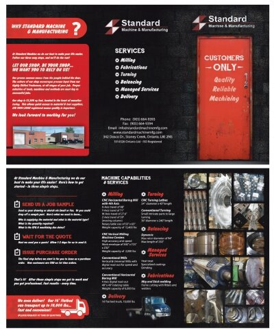 Machine Shop Brochure