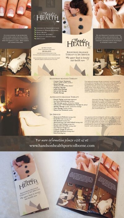 Spa & Therapy Brochure