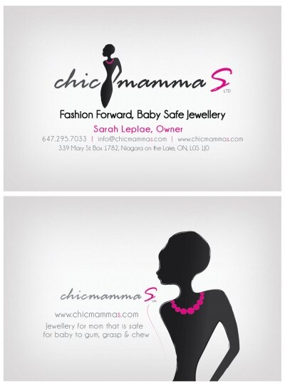 Chic Mammas Business Card