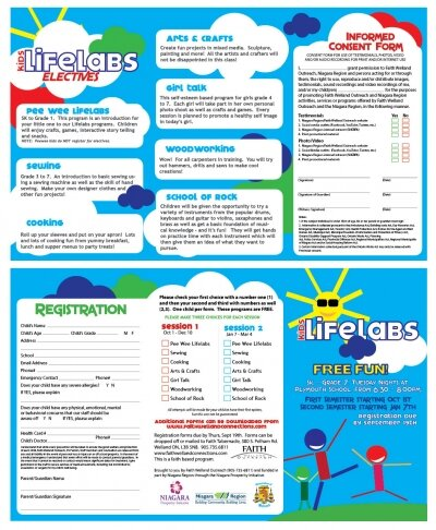 Kids Lifelabs Brochure