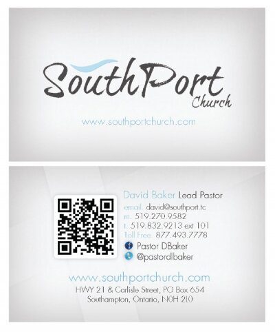 Southport Church Business Card